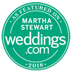 as featured in Martha Steward Weddings