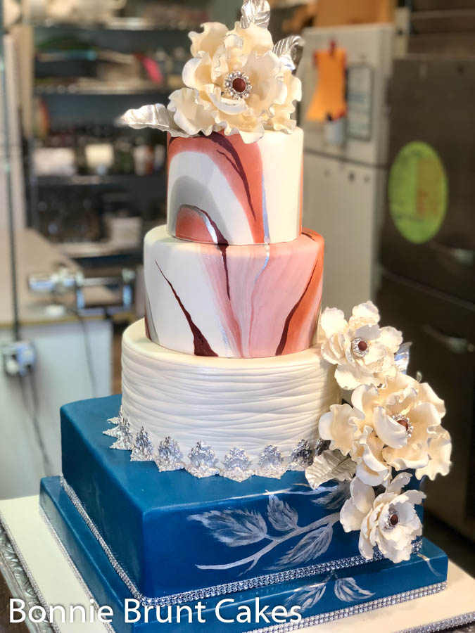 Unconventional Wedding Cake