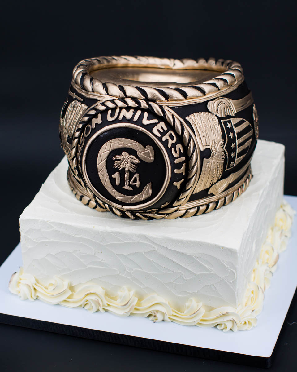 Clemson Ring Cake