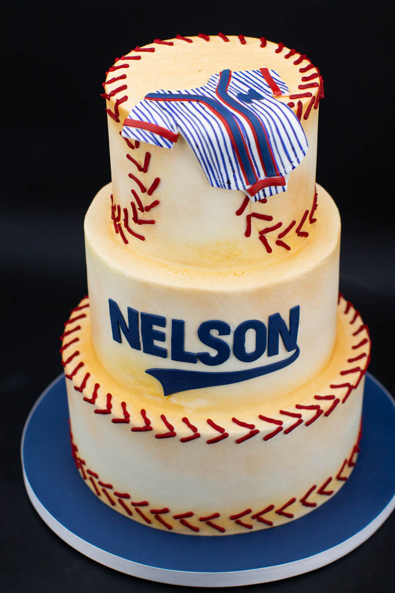 Peachy Baseball Birthday Cake Cake Of The Week Wedding Cakes Grooms Funny Birthday Cards Online Fluifree Goldxyz
